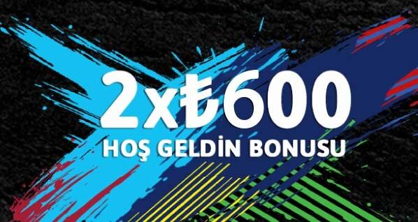 Youwin Hoş Geldin Bonusu 2x600