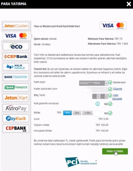 Youwin Kredi Kartı