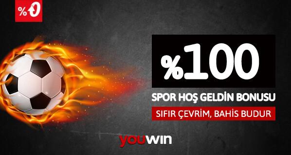 Youwin Spor Hoş Geldin Bonusu
