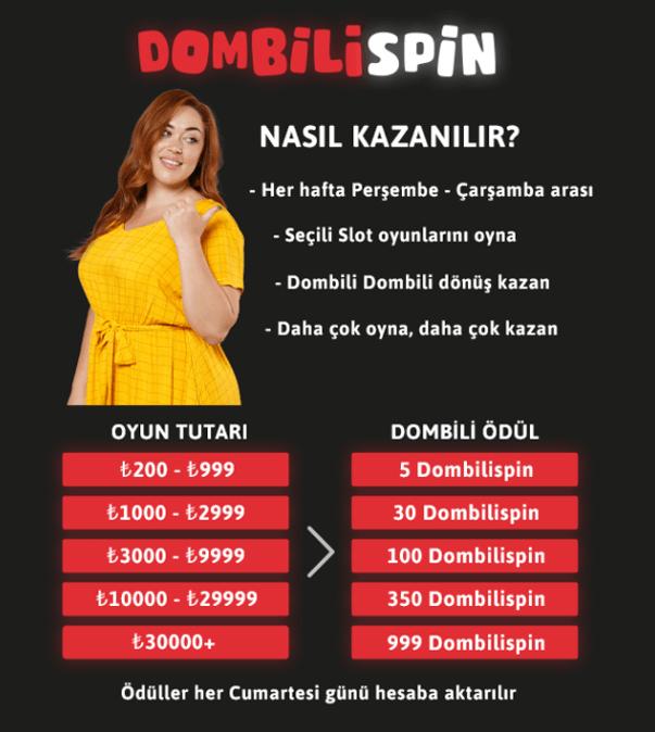 youwin dombilispin bonusu